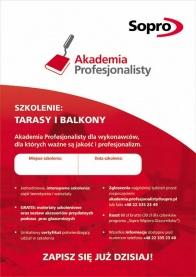 Akademia Profesjonalisty: ruszają szkolenia dla glazurników